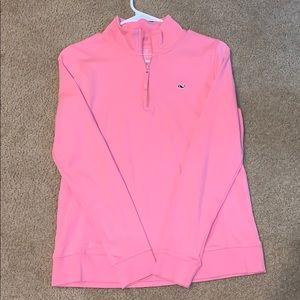 Vineyard Vines Pink Pullover NWOT
